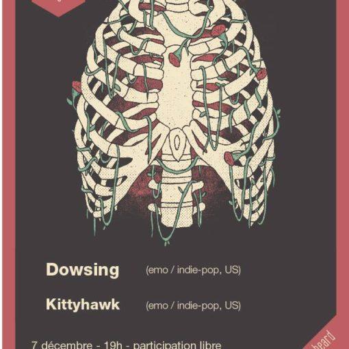 Dowsing / Kittyhawk show this sunday