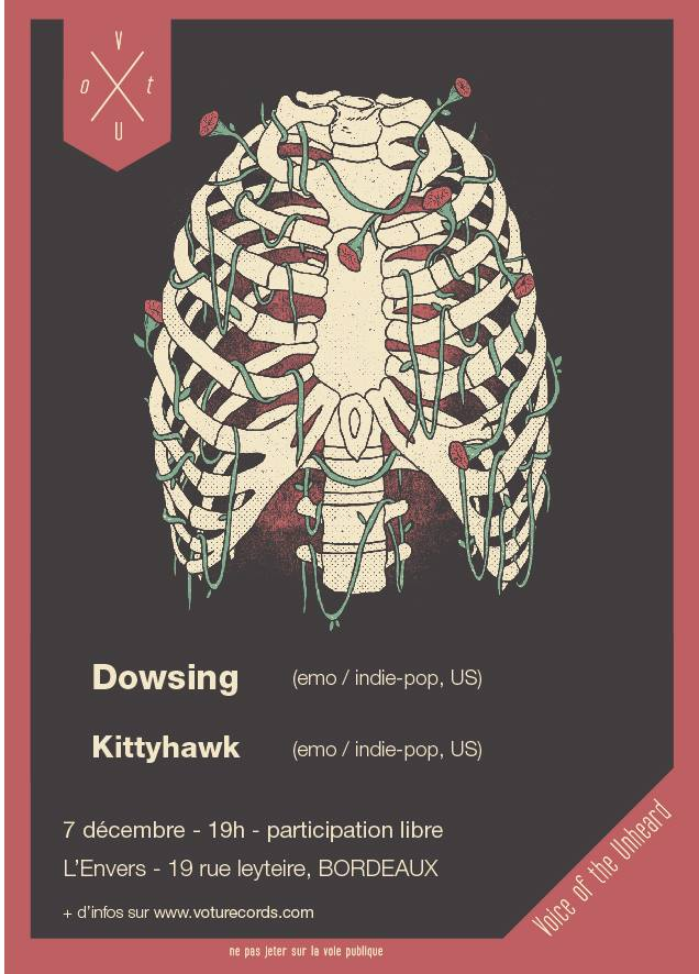 Dowsing / Kittyhawk show this sunday