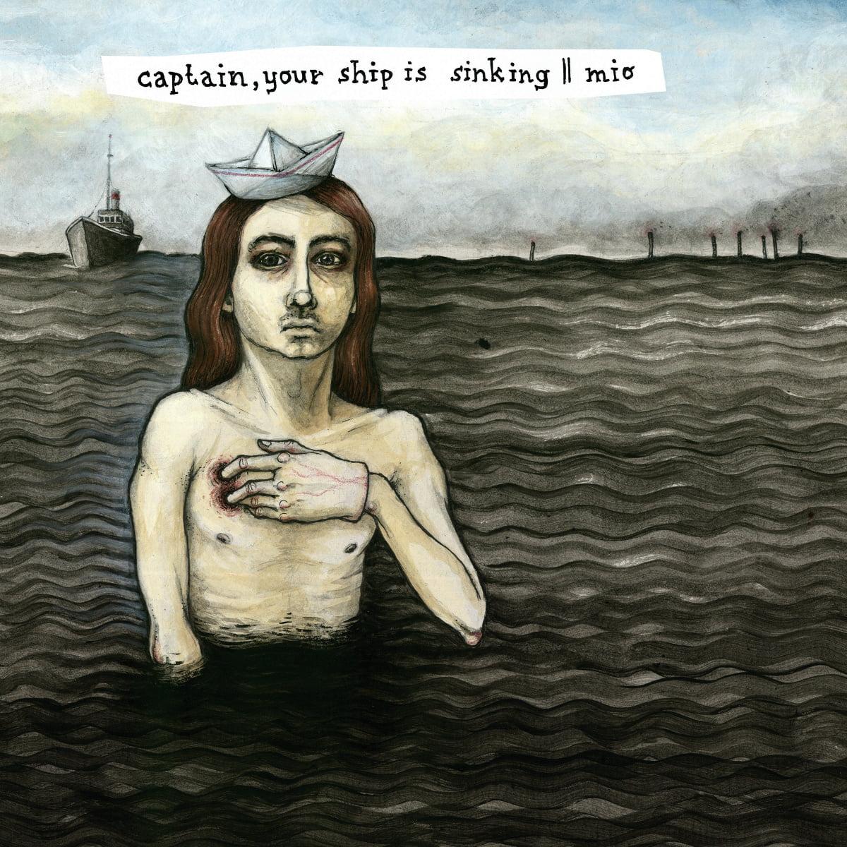 Captain, Your Ship Is Sinking / Mio | Split LP