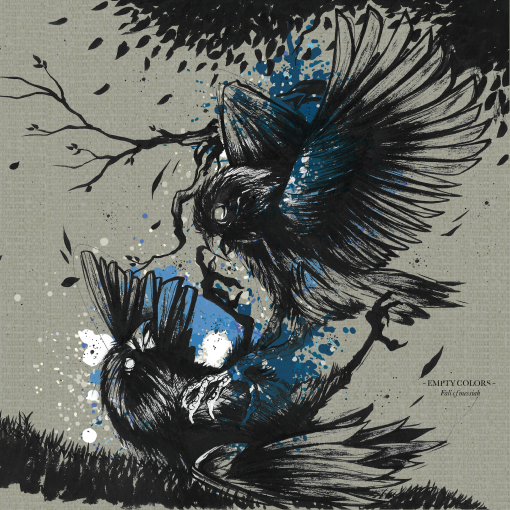 Fall Of Messiah – Empty Colors transparent blue LP : preorders available
